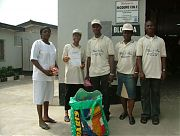 Bliss &amp; Fire Lagos Team at Modupe Cole Memorial December 24, 2007